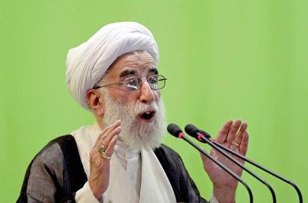 رئيس مجلس صيانة الدستور الإيراني، أحمد جنتي