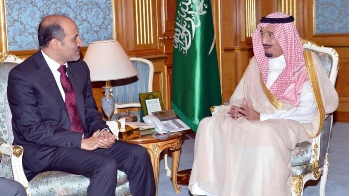 الأمير سلمان يدعو لوقف القتل في سوريا خلال لقائه الجربا