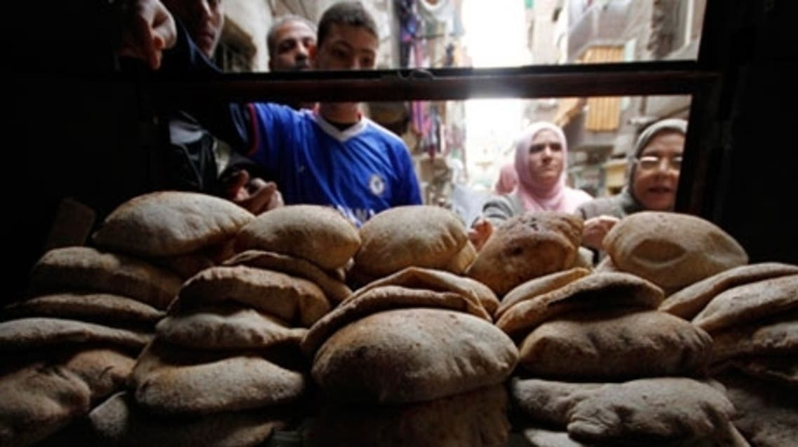 Egypt bread reuters