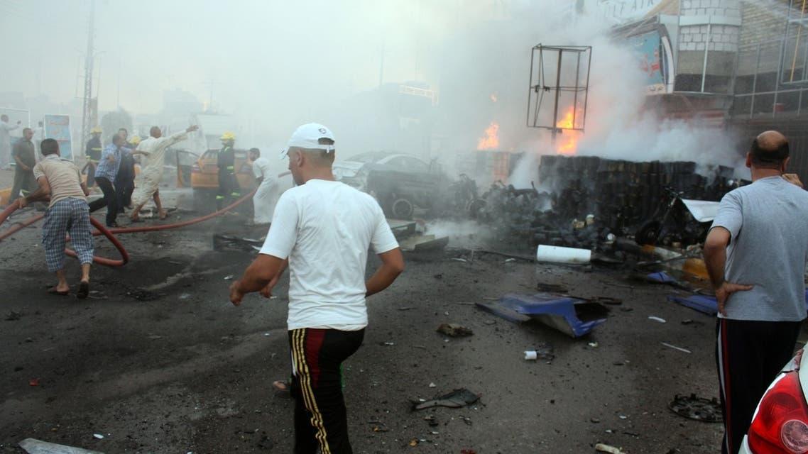 تفجير سابق في مدينة الناصرية