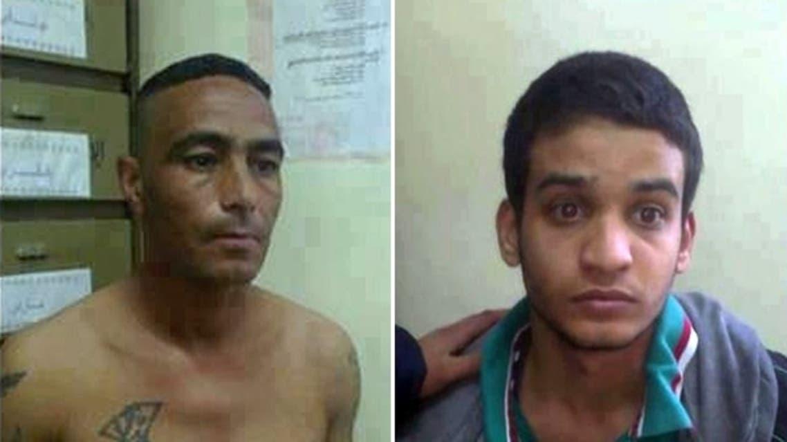 قاتلا الطفلين الجزائريين