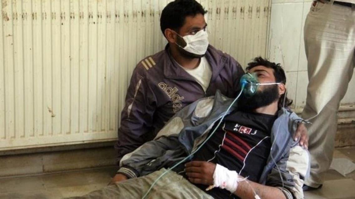 الأسلحة الكيماوية في سوريا