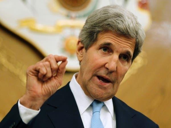 كيري يدعو الكونغرس للموافقة على ضرب نظام الأسد