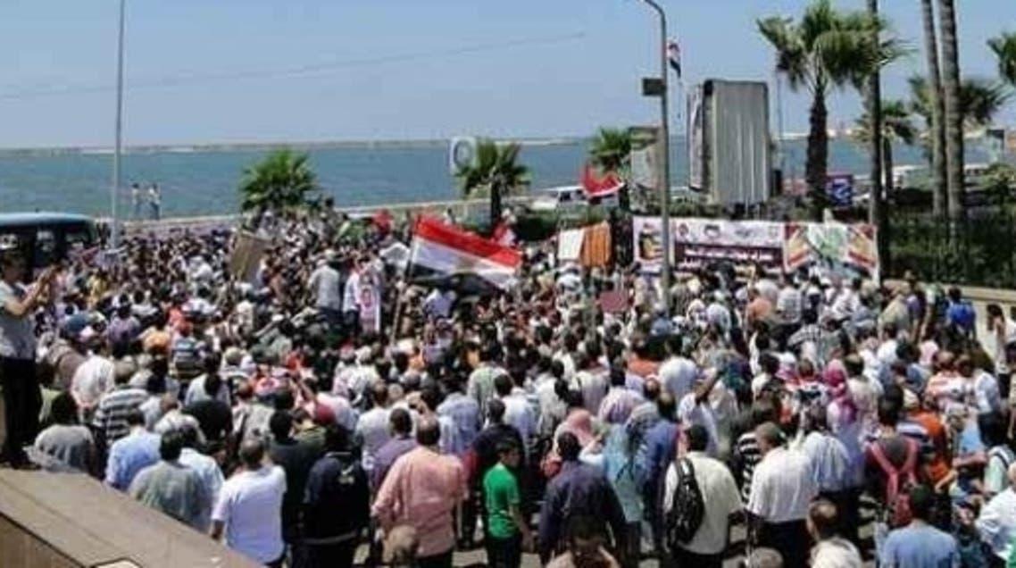 مسيرات مرسي بالإسكندرية 1