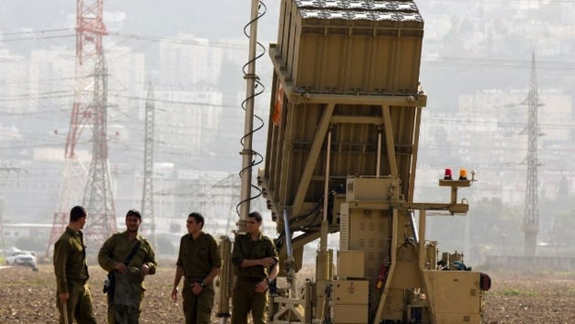 The Iron Dome defense missile system is designed to intercept and destroy incoming short-range rockets and artillery shells. (File Photo: AFP)