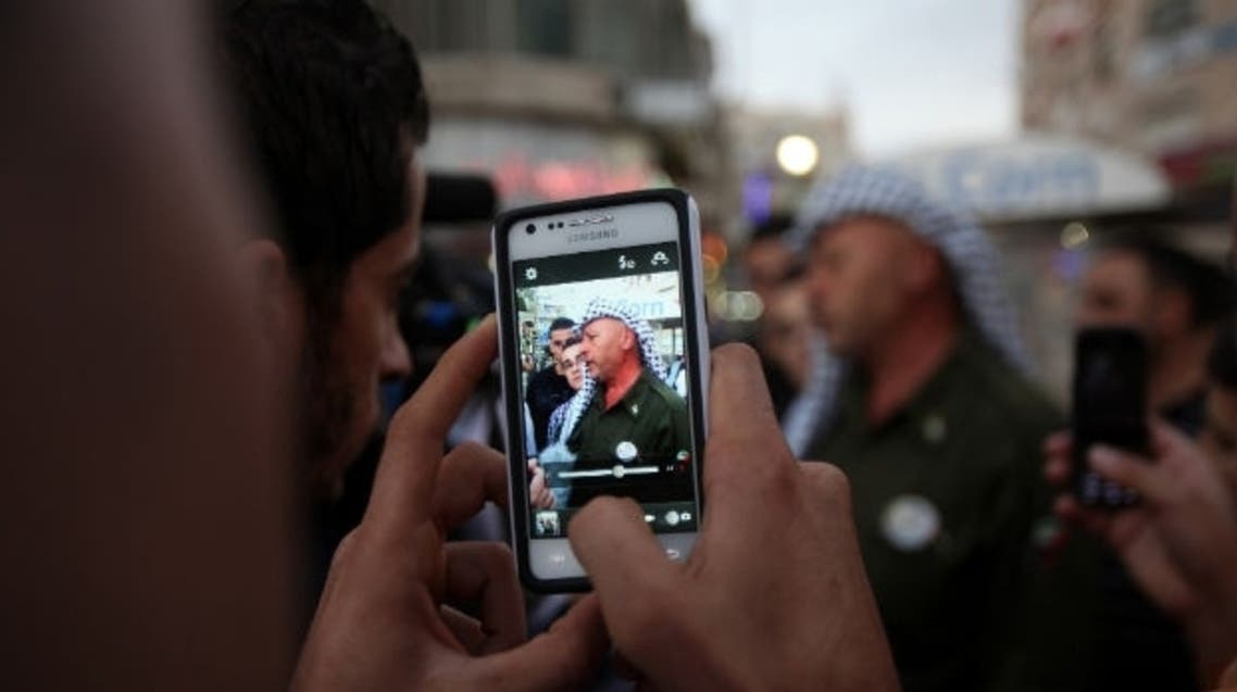 west bank smartphone (Photo courtesy: Foreign Policy)