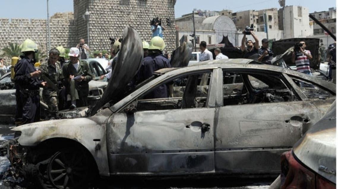 Syria car bomb (File Photo: AFP)