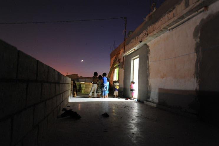 Syrian refugees in Ramadan