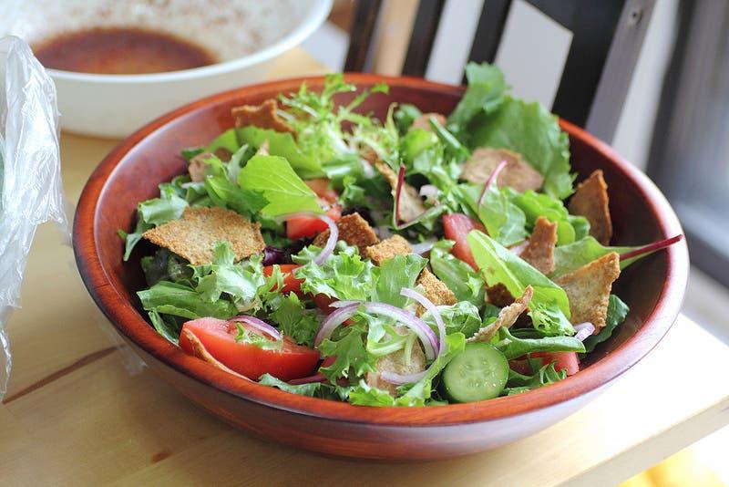 Fatoush salad (Photo courtesy: adventuressheart.com)