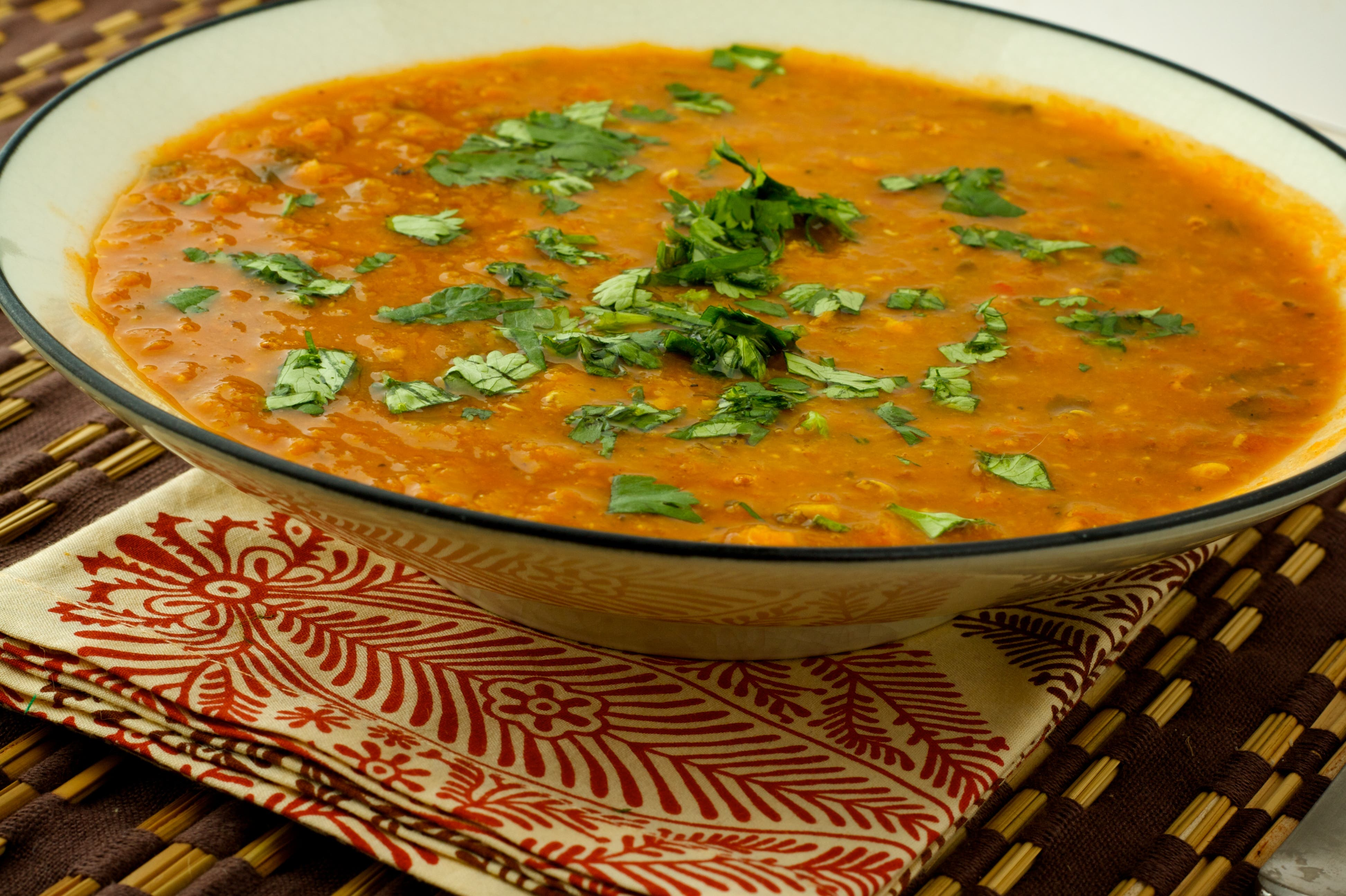 Top 15 ramadan drinks and dishes al arabiya english moroccan lentil soup photo courtesy spoonwithme forumfinder Gallery