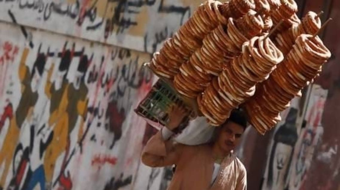 Tens of millions of Egyptians are dependent on subsidized bread. (File Photo: Reuters)