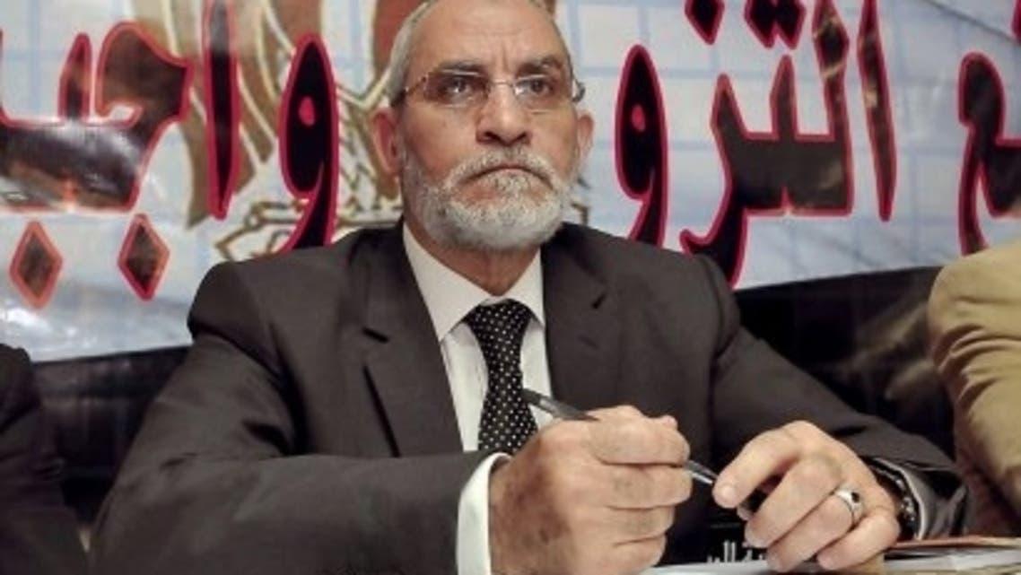 Mohammed Badie, head of Egypt's Muslim Brotherhood. (file photo: AFP)