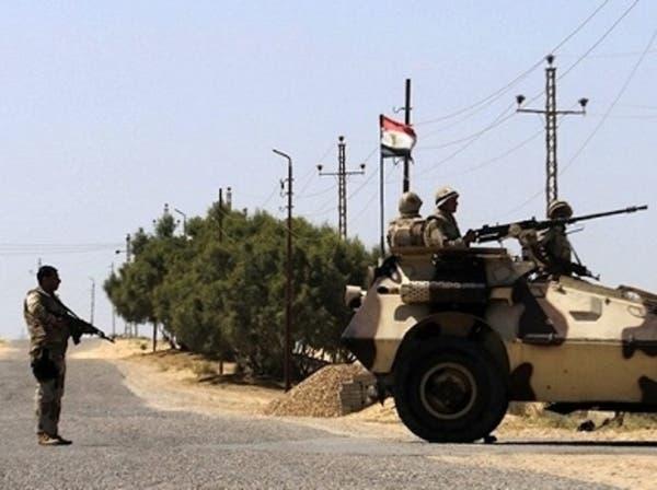 انفجار هائل يهز مدينة الشيخ زويد بشمال سيناء