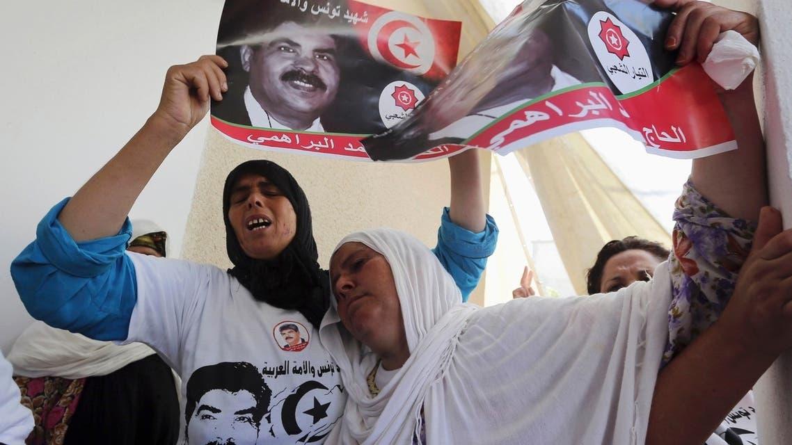 Tunisia buries opposition figure Mohamed Brahmi