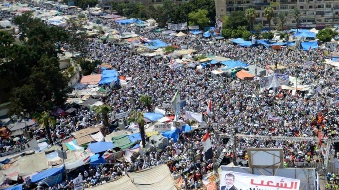اعتصام رابعة العدوية لمؤيدي الرئيس المعزول محمد مرسي