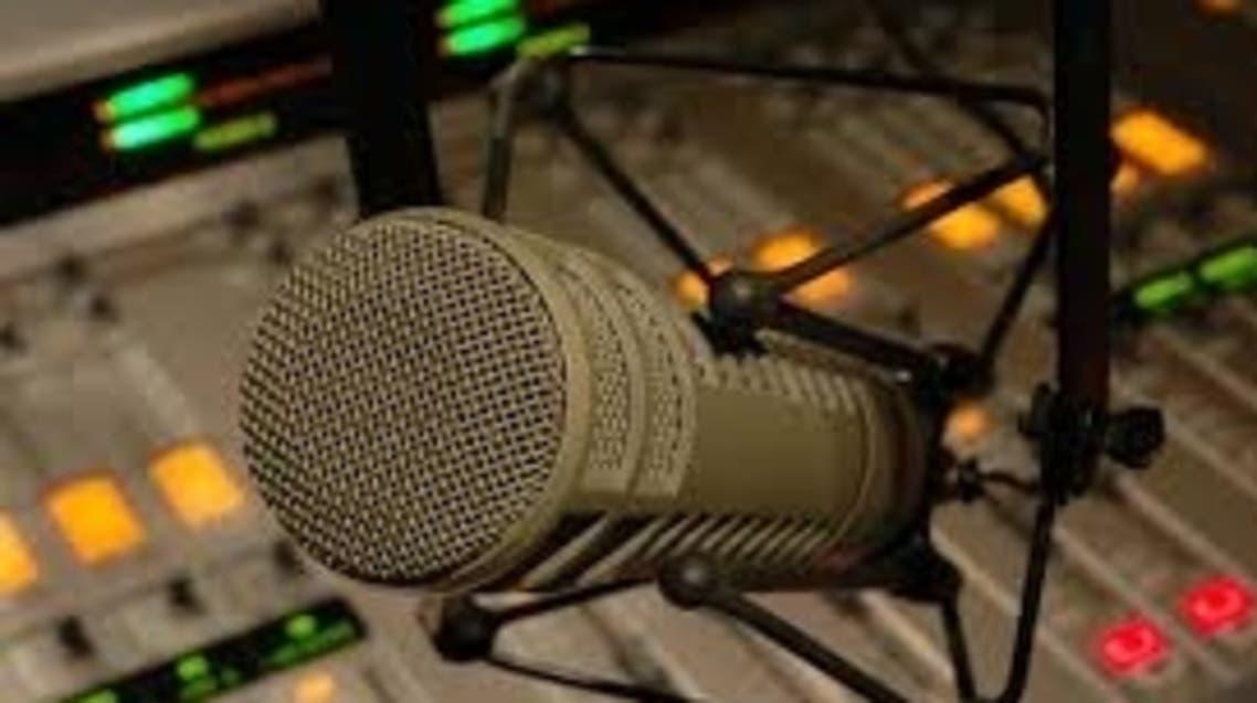 ميكروفون اذاعة راديو