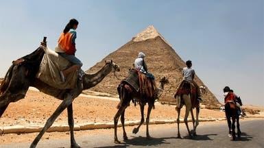 76 % الارتفاع بعدد السياح الوافدين إلى مصر في أغسطس