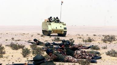 """سيناء.. الجيش يواصل عملية """"حق الشهيد"""" لاستئصال الإرهاب"""