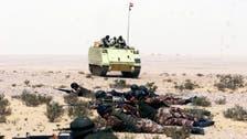 مقتل 7 تكفيريين وضبط 7 في حملة أمنية بشمال سيناء