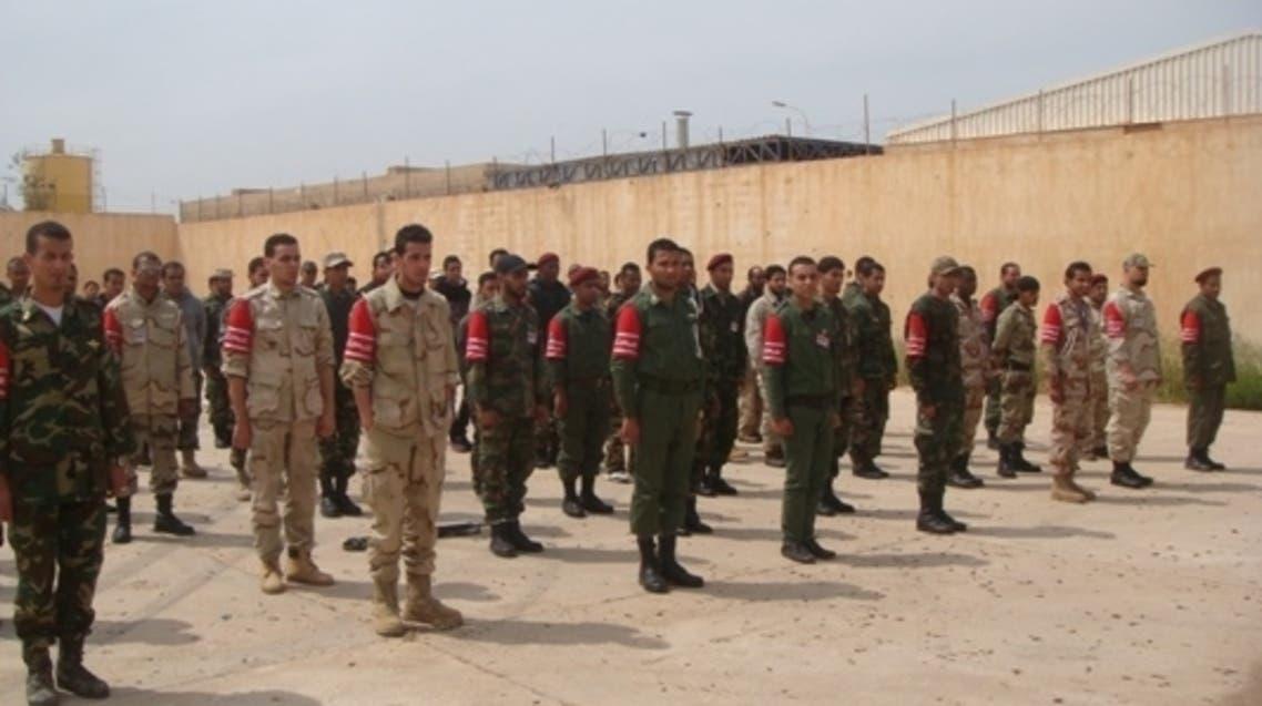 احد سجون ليبيا