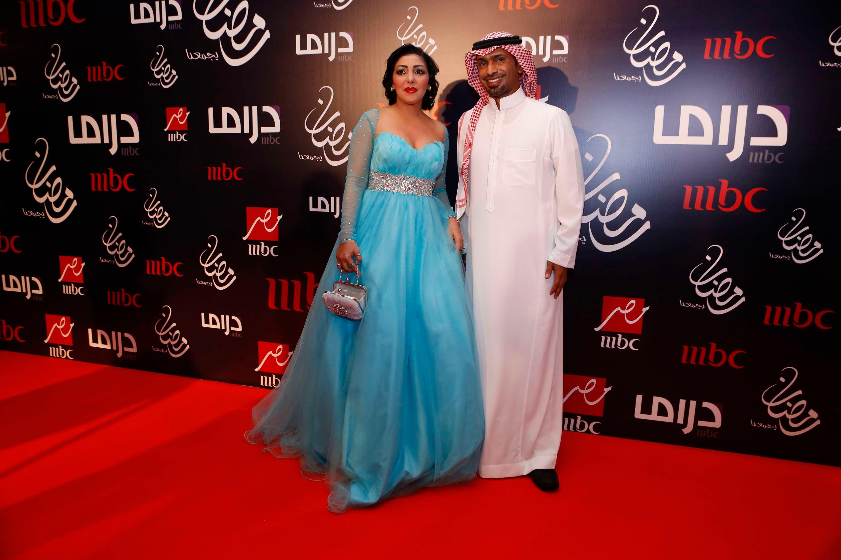 Nadia Mandouri (L) and Habeeb Al Habeeb (R)