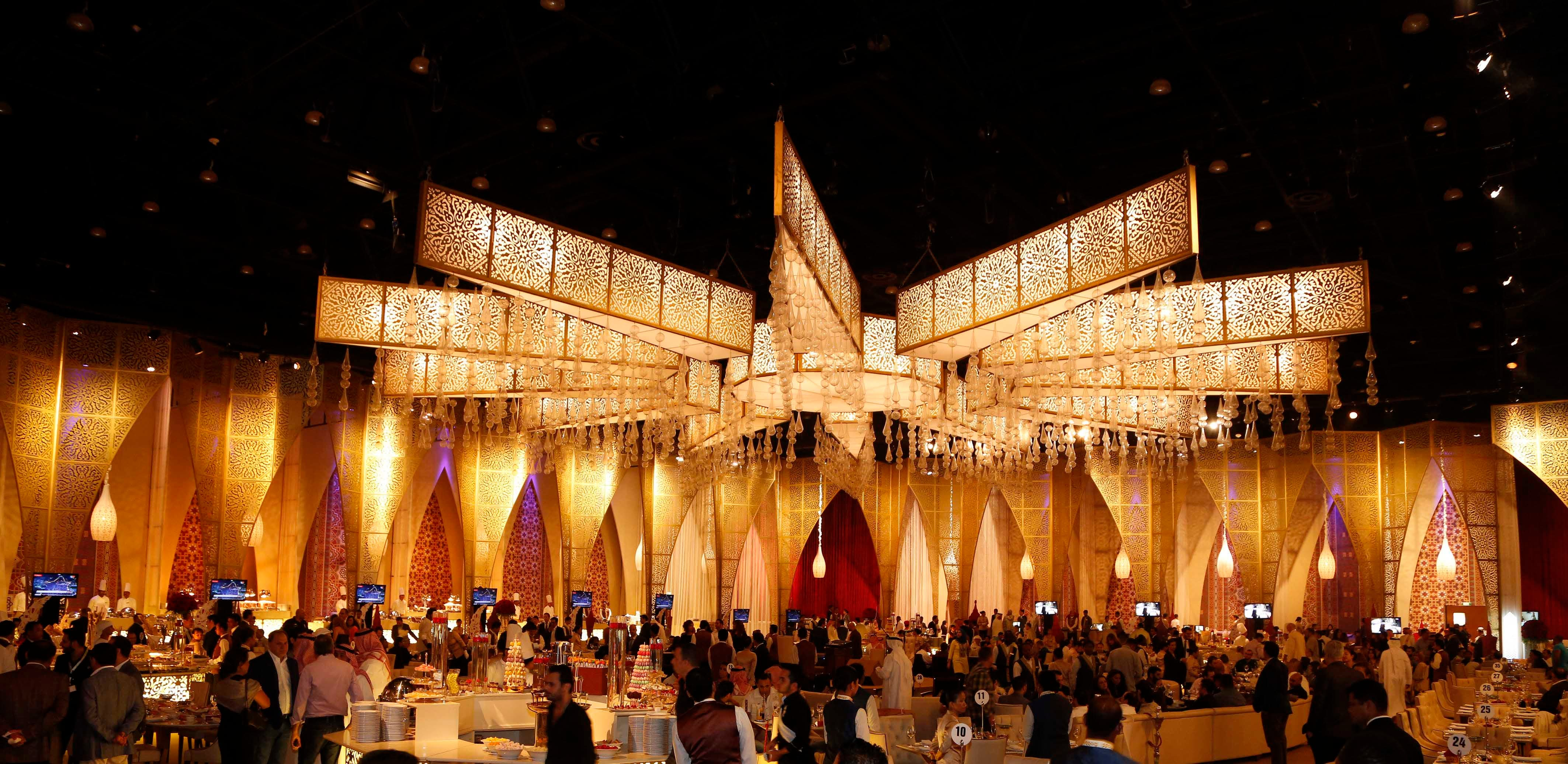 MBC Group Suhour 2013 Venue at Al Majlis Mina A Salam Dubai