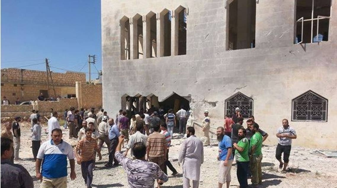 مجزرة في مسجد في عندان