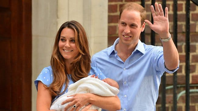 royal baby AFP
