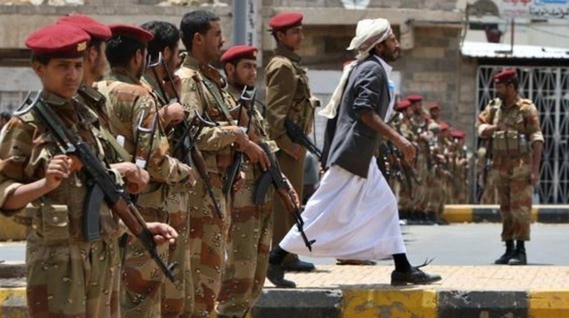 أرشيفية لجنود يمنيين في صنعاء
