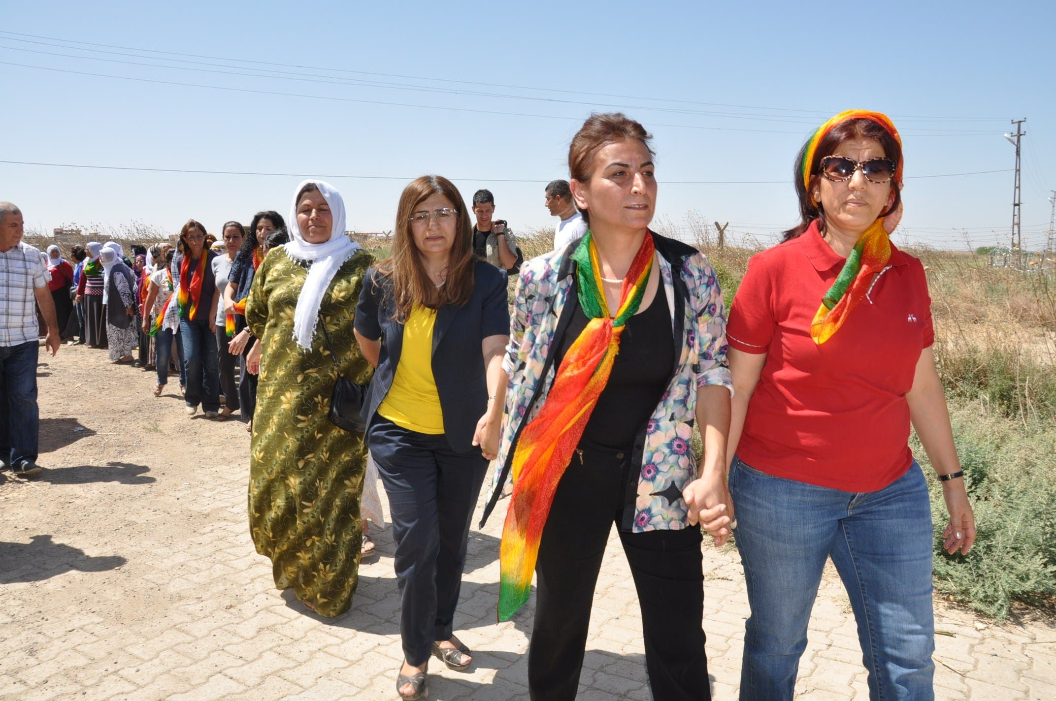 Kurds in the Syrian conflict
