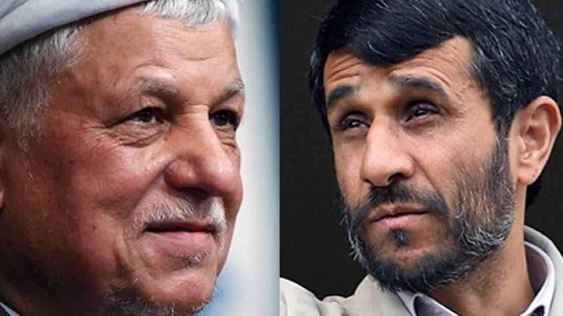 احمدي نجاد ورفسنجاني
