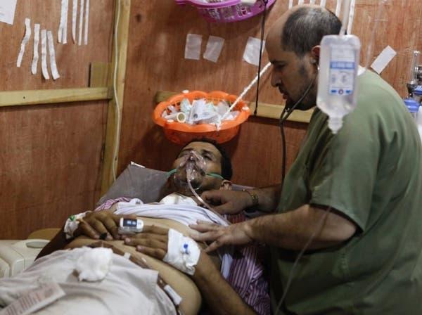 وزارة الصحة المصرية: 34 مصابا حصيلة اشتباكات أمس