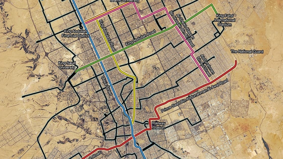Riyadh's metro system is the world's largest public transport system currently under development, officials say. (Photo courtesy: Arriyadh Development Authority)