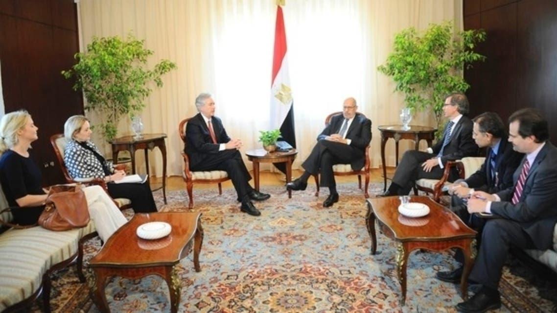Egypt's interim Vice President Mohamed al-Baradei