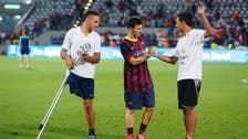 Messi aims for ambitious goal as Barca stars end Mideast 'Peace Tour'