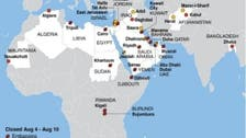 U.S. embassy closures across Mideast due to 'pre-9/11 levels of chatter'