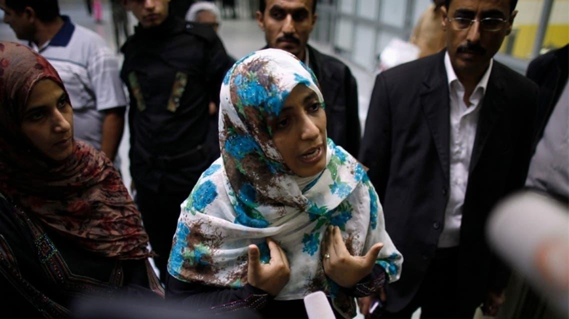 رفض دخول توكل كرمان الى مصر في مطار القاهرة