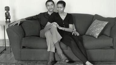 ميشيل لأوباما: زاد الشيب في رأسك لكنني أحبك أكثر