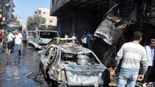 Bomb kills 18 in Damascus suburb: state TV