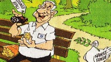 'Toxic' Netanyahu? Cartoon depicts Israeli PM as spoiling Mideast peace
