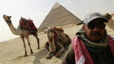 Tourists desert Egypt as protests rage
