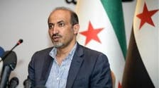 Syrian opposition chief visits Daraa to mark Eid