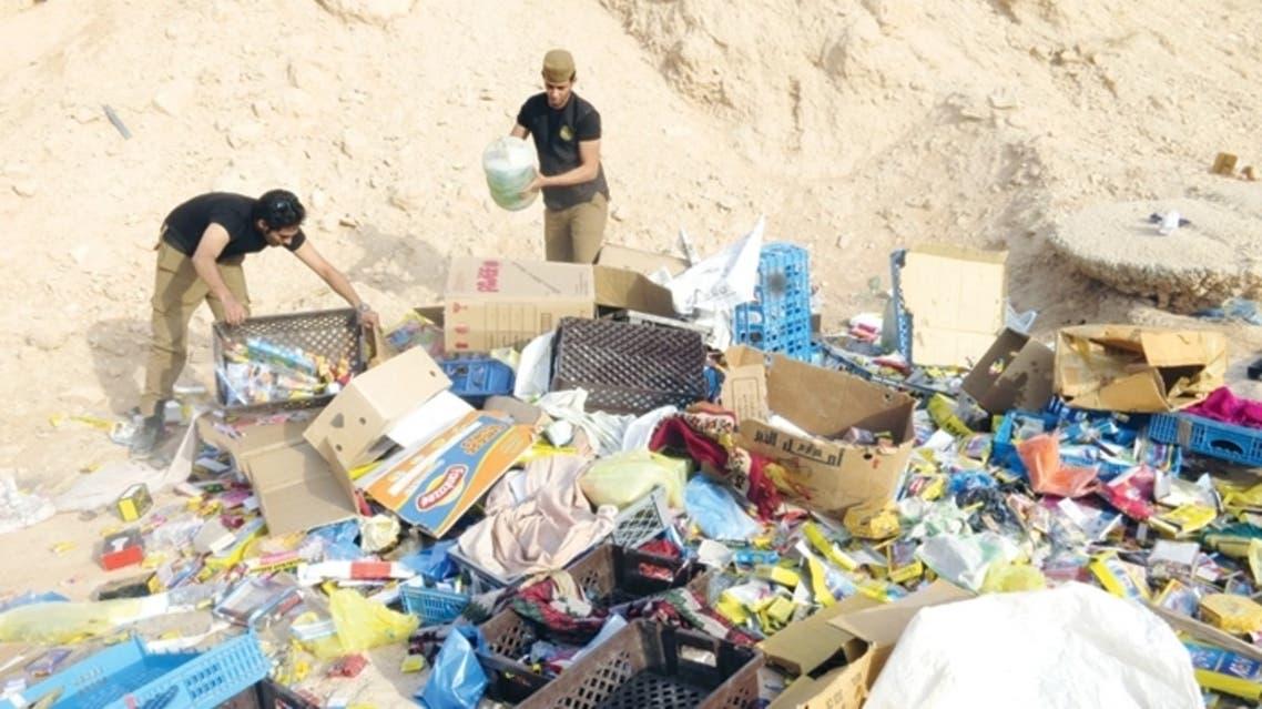 اتلاف العاب نارية في الرياض
