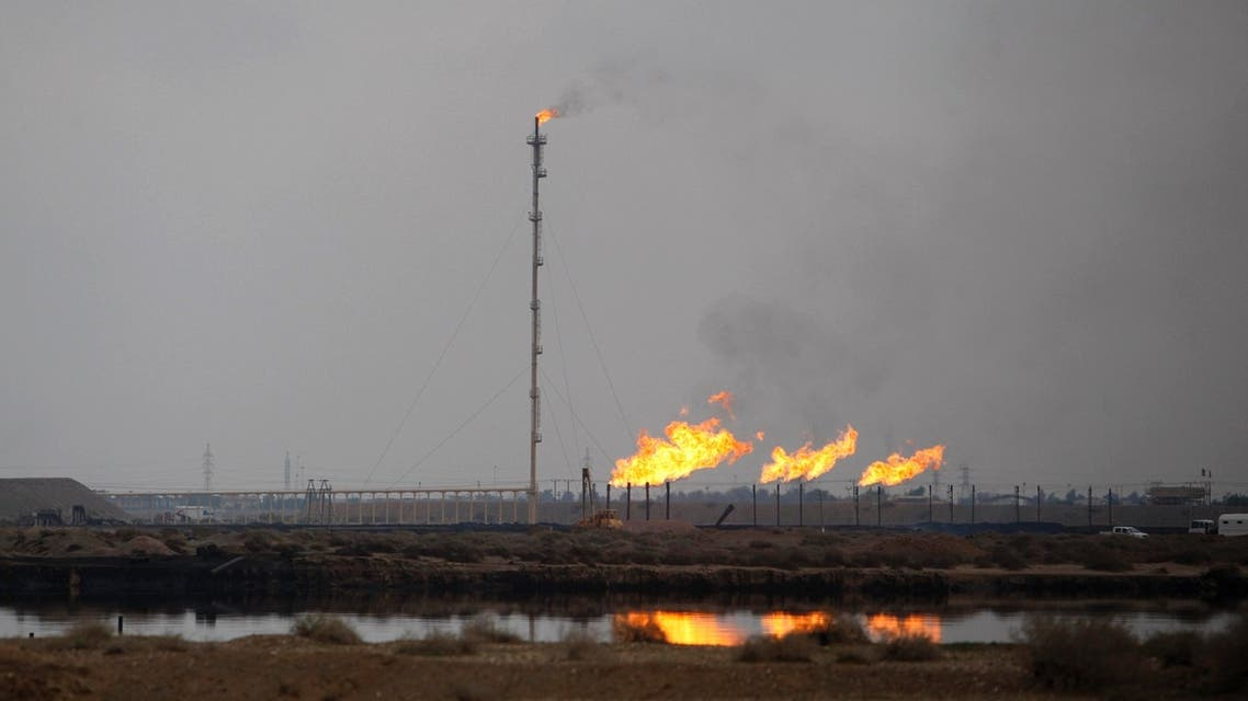 Despite Iraq's oil exports falling in July, production rose to 3.25 million barrels per day. (File photo: Reuters)