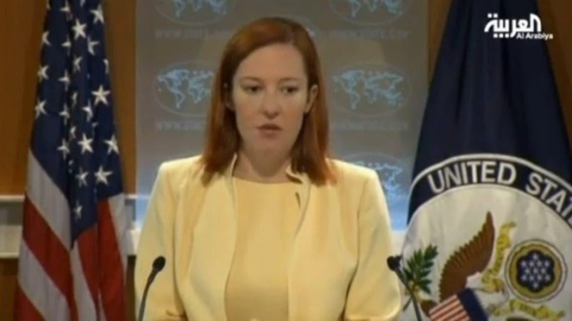 Jen Psaki (Al Arabiya)