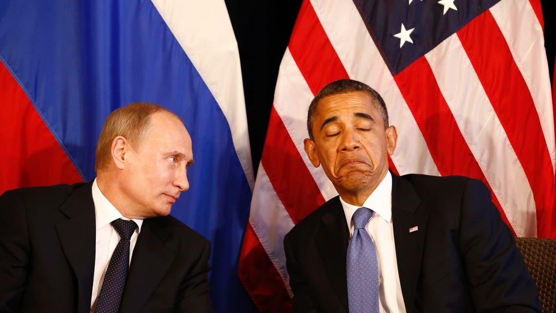 File photo of U.S. President Barack Obama (R) meeting with Russia's President Vladimir Putin in June 2012. (Reuters)