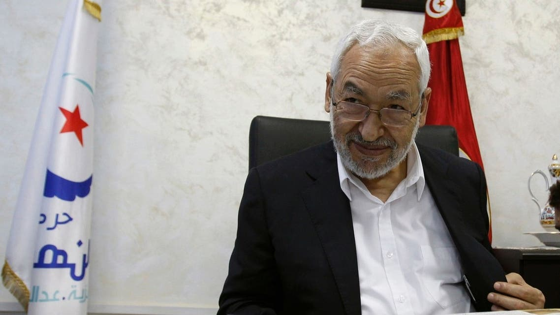 Rached Ghannouchi, leader of the Islamist Ennahda movement, speaks during an intervew with a Reuters journalist in Tunis August 5, 2013. reuters