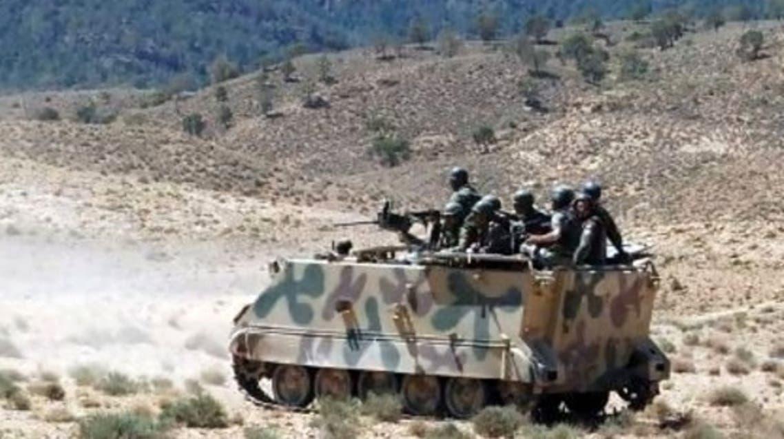 قوات تونسية في منطقة جبل الشعانبي
