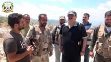 Free Syrian Army chief visits Assad's home province