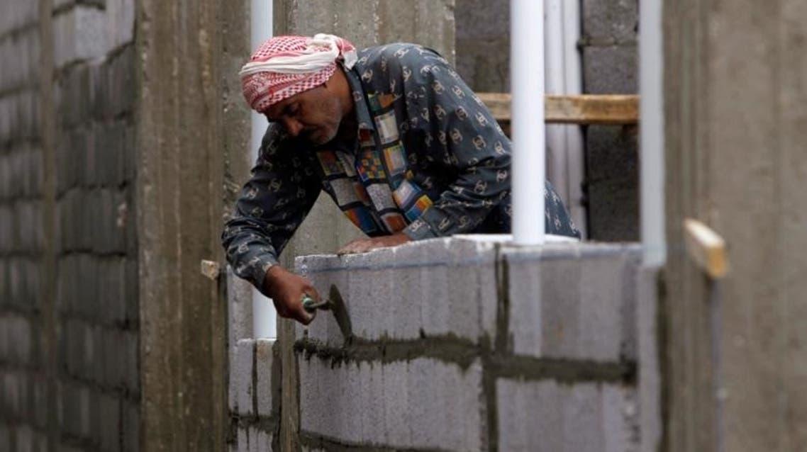 Saudi Construction Worker (Phile Photo: Reuters)